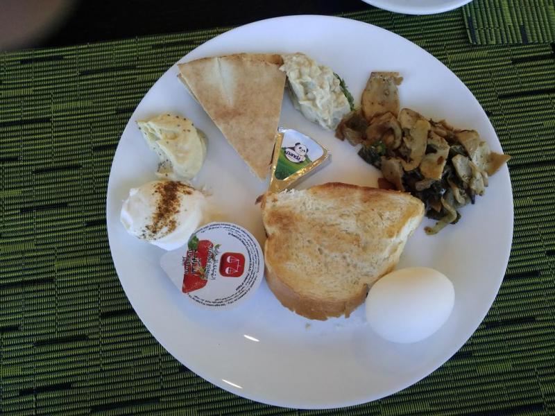 Чем нас кормили на завтрак в Иордании
